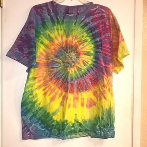 Tie-dyed shirt